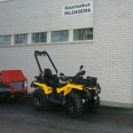 Traktorimönkijä Can-Am 650 vm. 2014