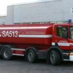 Säiliöauto Scania P400 8x4 vm. 2010